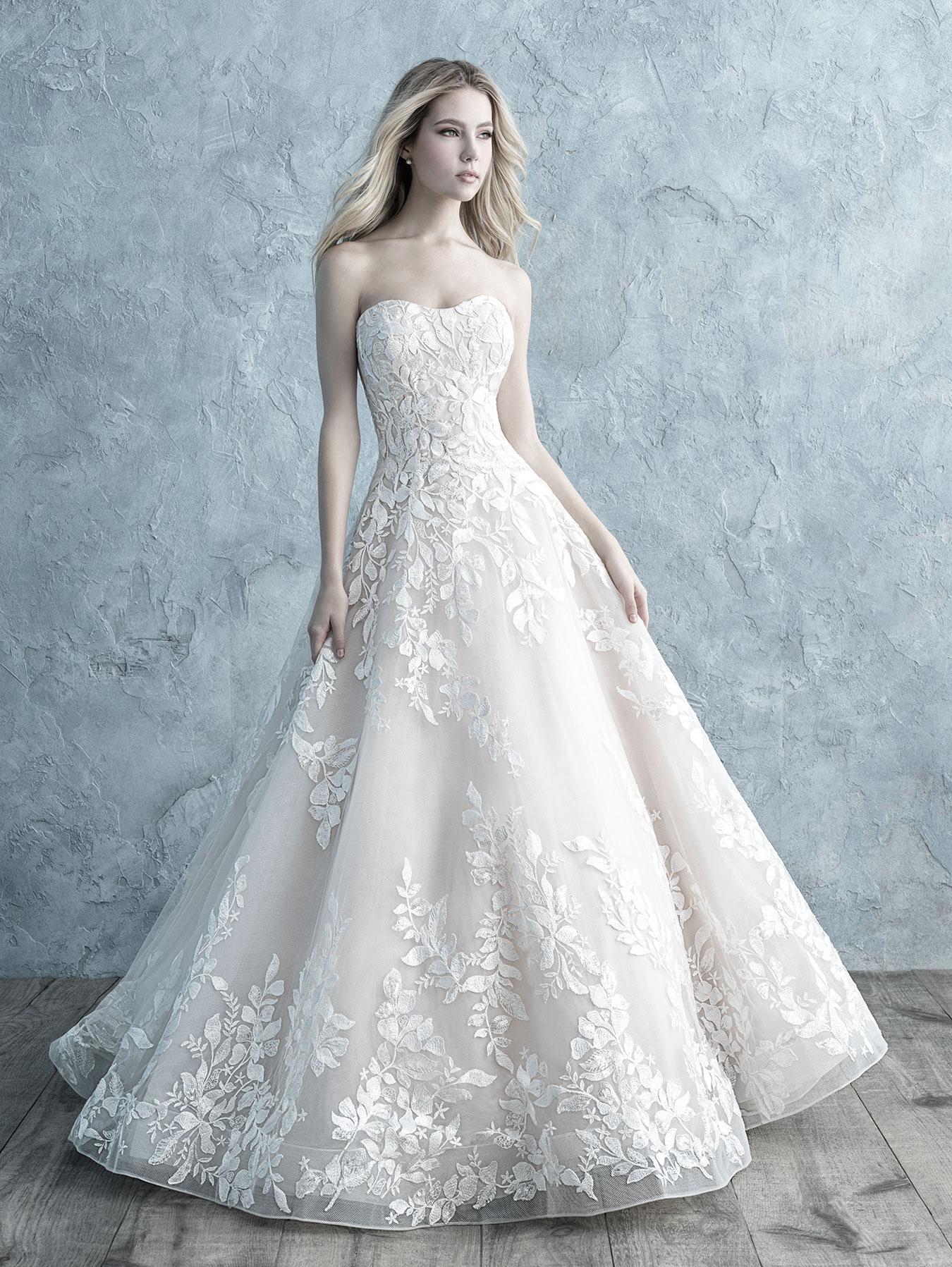 ALLURE BRIDALS 9660F