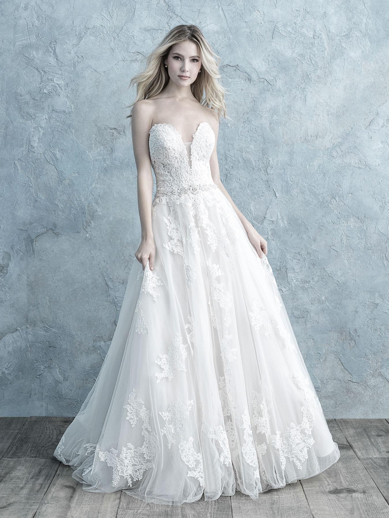 ALLURE BRIDALS 9672F